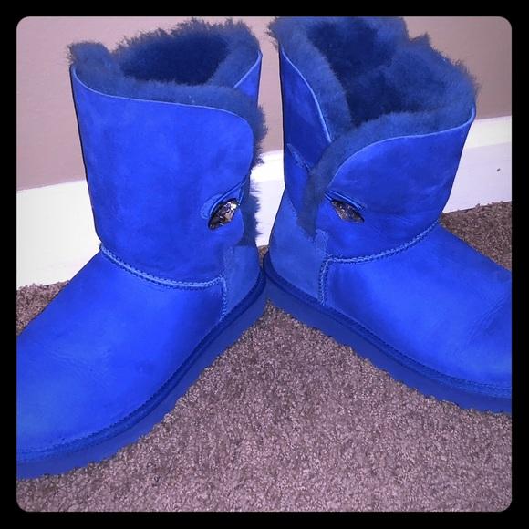 UGG Shoes | Ugg Boots Royal Blue Custom